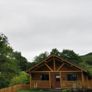 Holiday Lodges - some with a hot tub