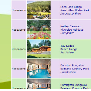 School holiday deals during Christmas, Easter, Whitsun, Summer and Half Term